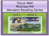 Mcgraw-Hill Focus Wall-Camping with the President-PPP