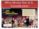 Mcgraw-Hill Focus Wall-Who Wrote the U.S. Constitution -PPP