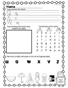 Mcgraw Hill Wonders Kindergarten Homework Unit 8