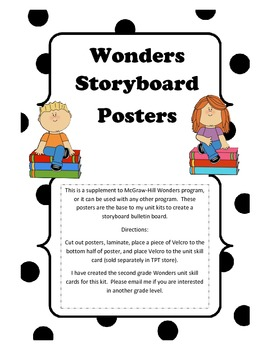 McGraw-Hill Wonders Storyboard Focus Wall Posters
