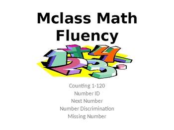 Mclass Math Fluency PowerPoint