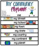 Me And My Community Flip Book [Street, Town, State...]