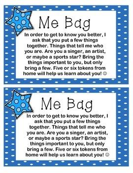"""""""Me Bag"""""""
