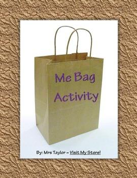 Me Bag Activity