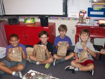 Free Me Bag (First Week of School Activity)
