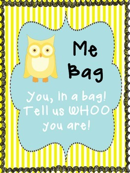 Me Bag! Tell us Whoo you are!