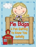 Me Bags... A Getting To Know You Activity