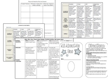 Me Bags and Personal Narratives: An Integrated Unit