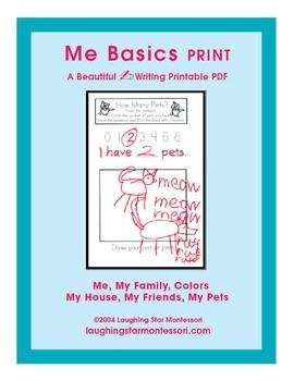 Me Basics Writing Print