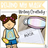 Me Behind the Mask Writing Craftivity | Back to School Activity