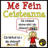 Mé Féin Ceisteanna Posters as Gaeilge