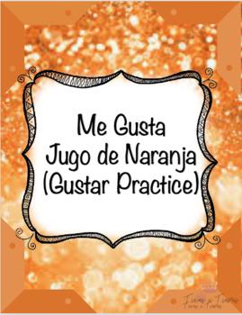 Me Gusta Jugo de Naranja Lyrics Cloze Activity