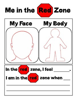 Me In My Zones - Red Zone
