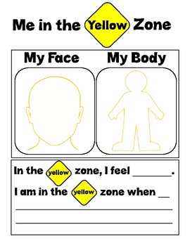 Me In My Zones - Yellow Zone