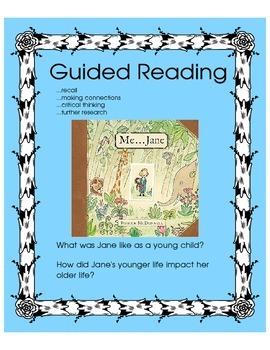 Me...Jane (Jane Goodall) - Guided Reading