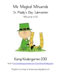 St. Patrick's Day Subtraction Packet Me Magical Minuends