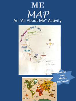 Me Map: An All About Me/ Back to School Activity (Writing)