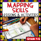 Map Skills Unit and Creative Mapping Activity