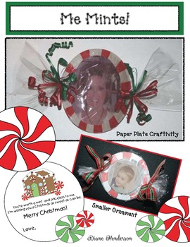Me Mints Christmas Craftivity