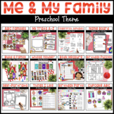 Me & My Family | Math, Literacy, and More!