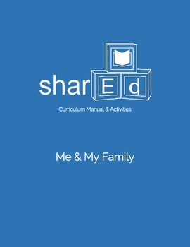 Me & My Family Themed Preschool Lesson Plan (Preview)