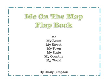 Me On The Map Flap Books