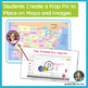 Me On The Map Flip Book | Me On The Map Activities in Google Slides | Map Skills