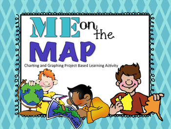 Me On The Map {Integrated Activity}