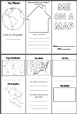 Me On a Map Bundle - Brochure, Craft & Quiz