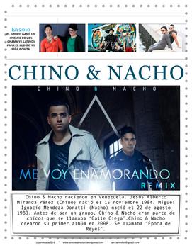 Me Voy Enamorando por Chino y Nacho