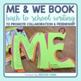 Back to School Writing: Me and We Book