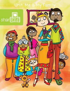 Me and My Family Activities Unit
