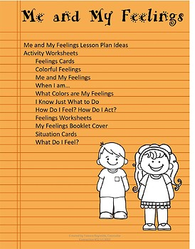 Me and My Feelings, No Prep Elementary Counseling