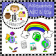 ABCs and 123s Clip Art Bundle (Me and My Peeps)