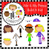 Build-A-Kid Clip Art (Me and My Peeps )