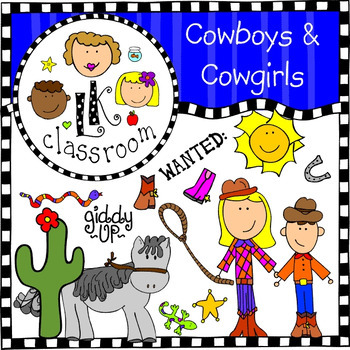 Cowboy Clip Art (Me and My Peeps)