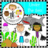 Ocean Life Clip Art (Me and My Peeps)