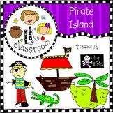 Pirate Island Clip Art Bundle (Me and My Peeps)