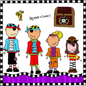 Pirate Island Clip Art Bundle (Me and My Peeps)