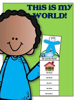 Me and My World Flip Book - A Minilesson