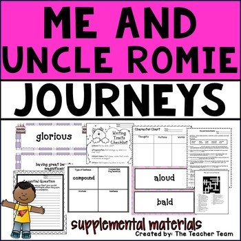 Me and Uncle Romie Journeys 4th Grade Unit 2 Lesson 8 Activities and Printables