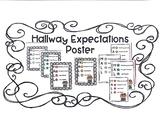 Hallway Expectations PosterFREEBIE