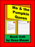 Me and the Pumpkin Queen Novel Study