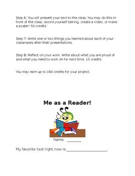 Me as a Reader