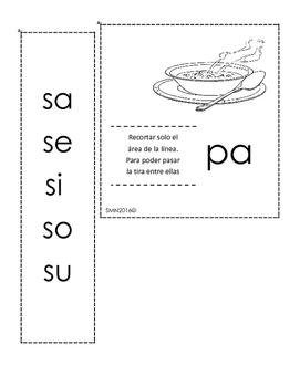 Me divierto creando palabras con fonemas