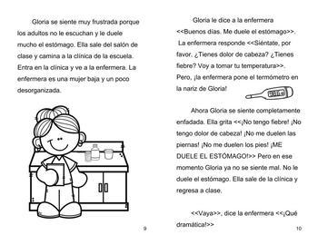Me duele el estómago: body parts and health vocab in Spanish