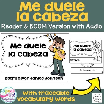 Me duele la cabeza ~ Spanish Body Parts reader {español} + BOOM™ Version w Audio