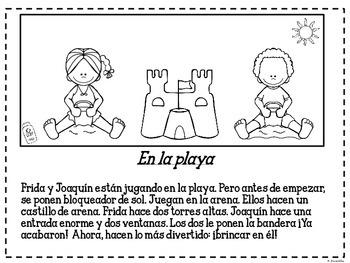 Me encanta leer en el verano - Reading Comprehension in Spanish