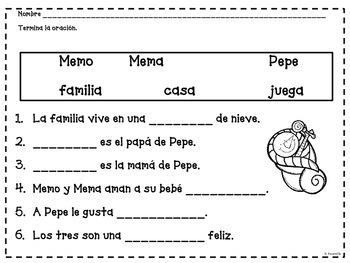 Me encanta leer en invierno - Reading Comprehension in Spanish