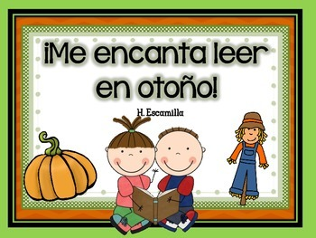 Me encanta leer en otoño- Reading Comprehension in Spanish